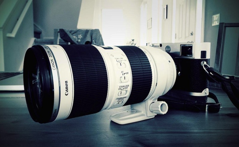 Leica-M-with-Canon-70-200-2.8-IS-II