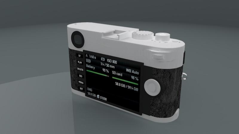 Leica M 3D Model